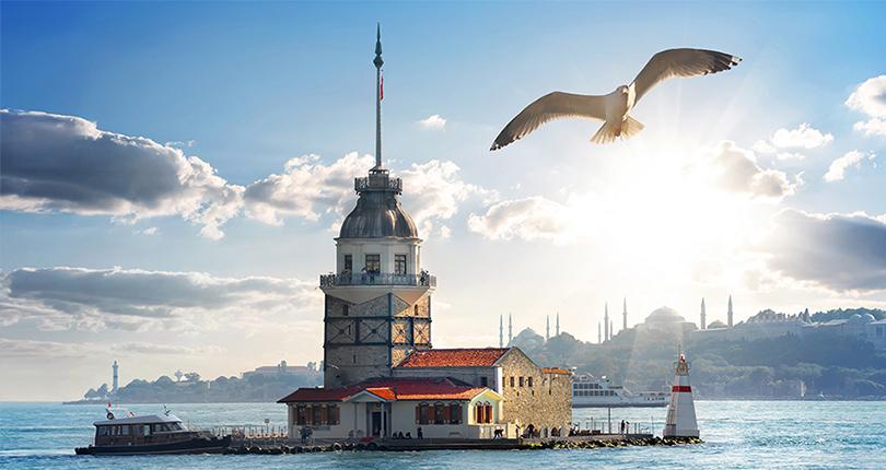 معالم سياحية: برج الفتاة في اسطنبول