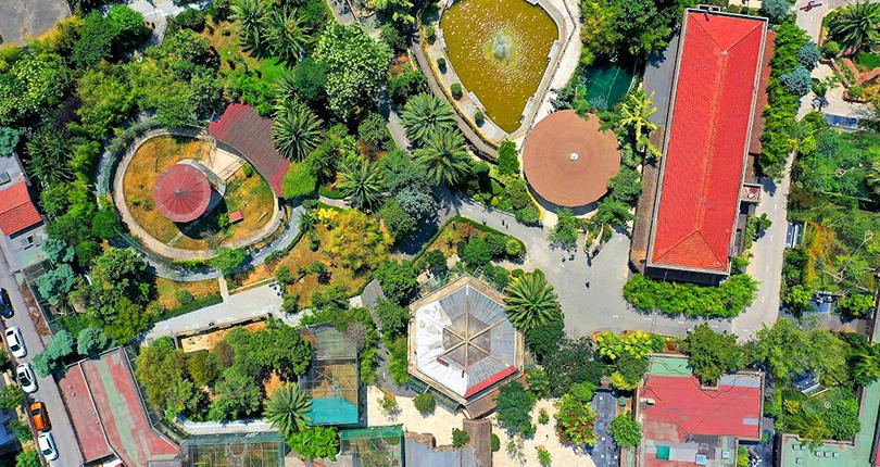 حديقة فاروق للحيوانات في القسم الآسيوي من اسطنبول