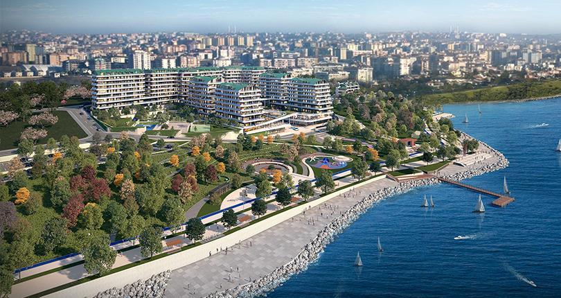 بيوت للبيع في إسطنبول مطلة على البحر
